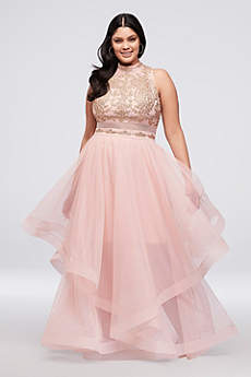 Long Ballgown Halter Formal Dresses Dress - City Triangles