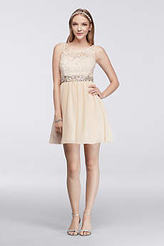Short Ballgown Tank Prom Dress - Masquerade