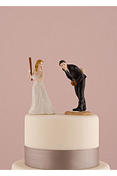 Hit a Home Run Baseball Cake Topper 8662