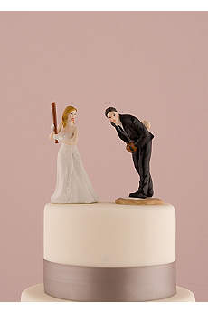 Hit a Home Run Baseball Cake Topper