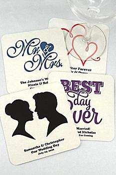 Personalized Square Paper Board Coasters 8829000