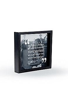 Personalized Memories Shadow Box Photo Frame 8943