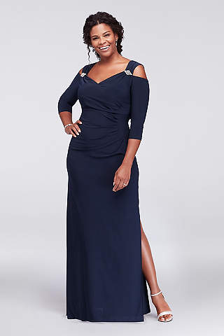 David's Bridal Mother of the Bride Plus Size
