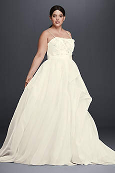 Long A-Line Wedding Dress - Cheers Cynthia Rowley
