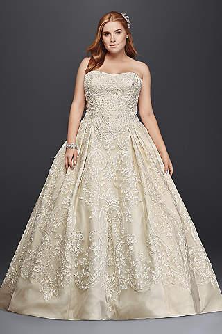 Princess &amp- Cinderella Wedding Dresses - David&-39-s Bridal