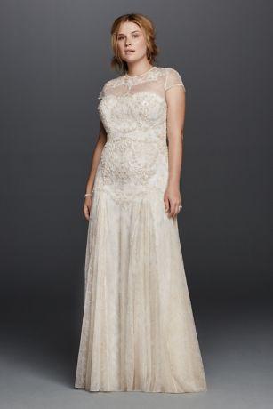 Vintage Plus Size Wedding Dresses Davids Bridal