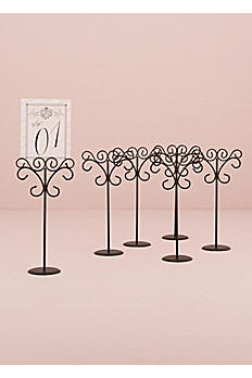 Ornamental Wire Table Card Holder Pack of 6 9189