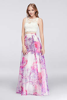 Long Ballgown Tank Prom Dress - My Michelle