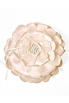 Sensational Floral Ring Bearer Pillow 9226