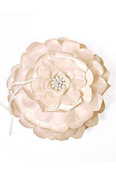 Sensational Floral Ring Bearer Pillow