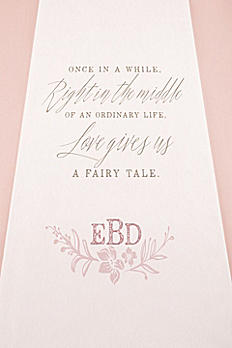 Personalized Modern Fairy Tale Aisle Runner 9299-FAIRY