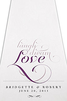 Personalized Expressions Aisle Runner 9299-LIVE