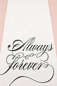 Always and Forever Aisle Runner 9300