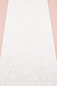 Heart Design Aisle Runner 9301
