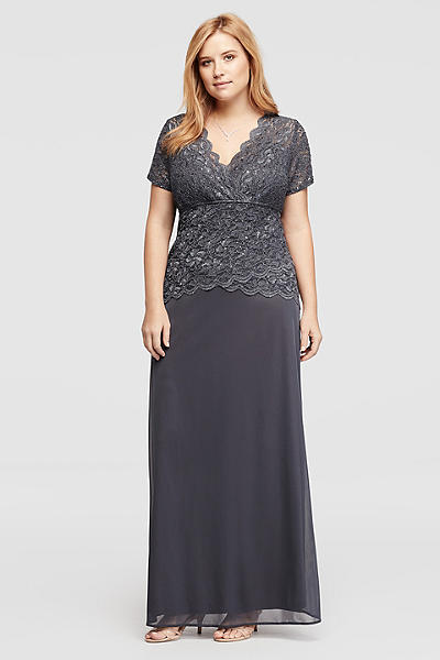 Cheap Plus Size Dresses - Davids Bridal