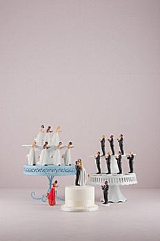 Interchangeable True Romance Cake Topper 9482