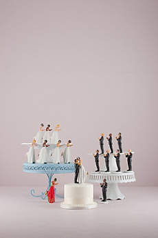Interchangeable True Romance Cake Topper