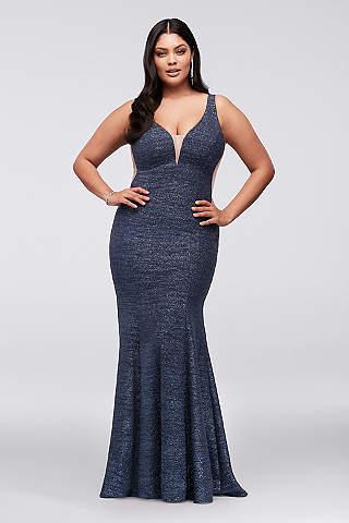 Long Mermaid/ Trumpet Tank Formal Dresses Dress - Xscape