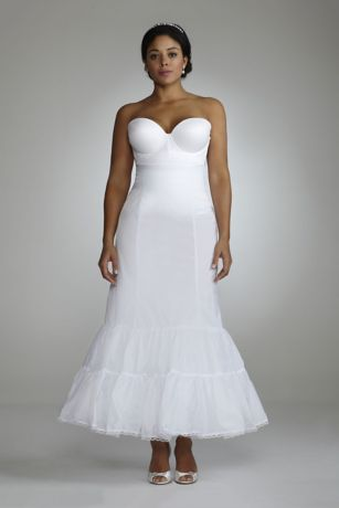 Full Fit And Flare Bridal Slip Davids Bridal