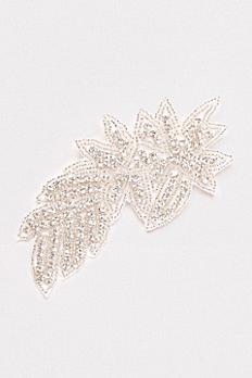 Rhinestone Leaf Hair Clip 9648499CP