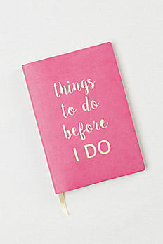DB Exclusive Things To Do Before I Do Notebook 973001
