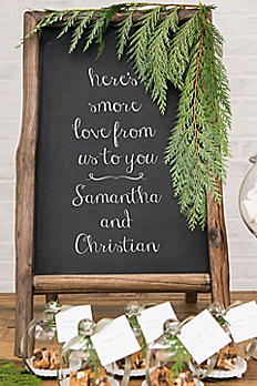 Standing Rustic Frame Chalkboard Sign 9741
