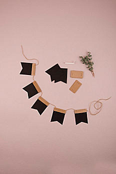 DIY Decorative Chalk Paper Banner Kit 9823