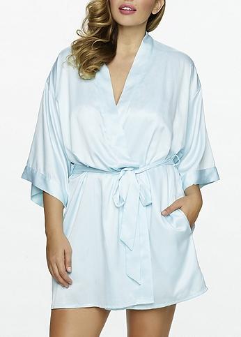 Jezebel Plus Size Satin Kimono 999890