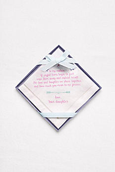 Mother of the Bride Handkerchief 9999240