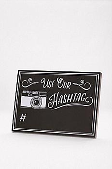 Wedding Hashtag Reception Sign 999DB2032