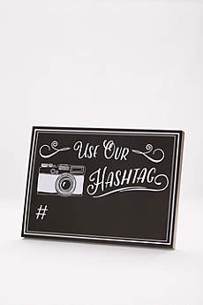 Wedding Hashtag Reception Sign