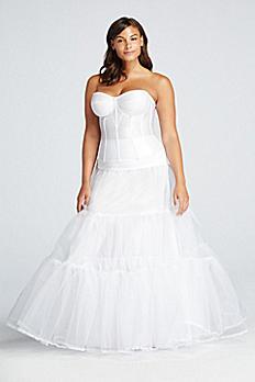Plus Size Ball Gown Silhouette Slip 9BALLGOWNSLIP