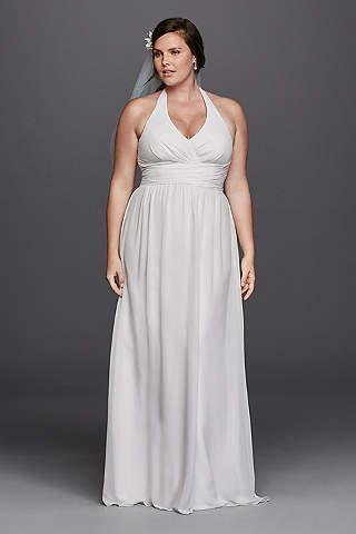 Halter wedding dresses gowns davids bridal long sheath beach wedding dress db studio junglespirit Choice Image