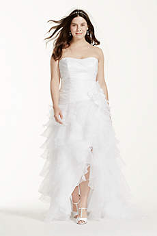 Short A-Line Formal Wedding Dress - David's Bridal Collection
