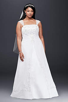 White A-line Wedding Dresses & Gowns | David\'s Bridal