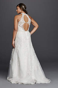 Halter Wedding Dresses & Gowns | David\'s Bridal