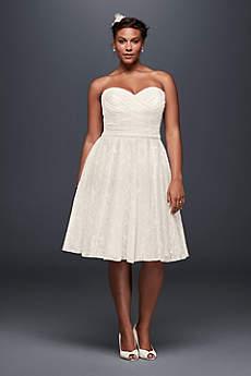 Short & Tea Length Wedding Dresses | David's Bridal