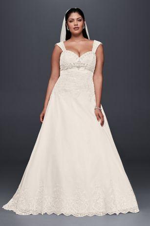 Over 60 plus size wedding dresses