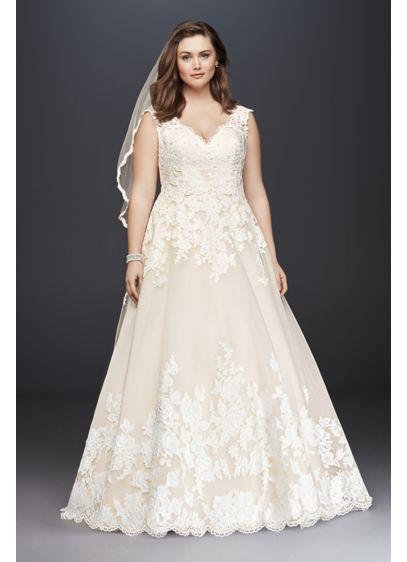Long Ballgown Romantic Wedding Dress