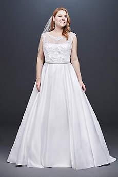 Long Ballgown Formal Wedding Dress -