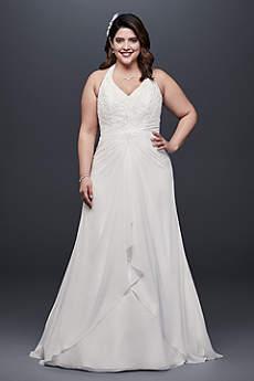 White a line wedding dresses gowns davids bridal long a line formal wedding dress junglespirit Gallery