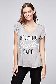 Resting Bride Face Tee A032019166