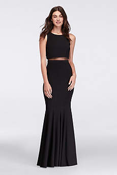 Long Tank Military Ball Dress - Betsy and Adam