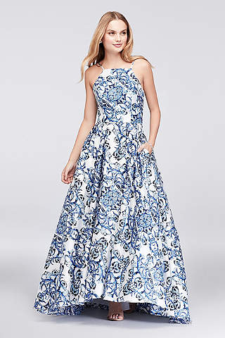 Debs Junior Dresses Blue Long