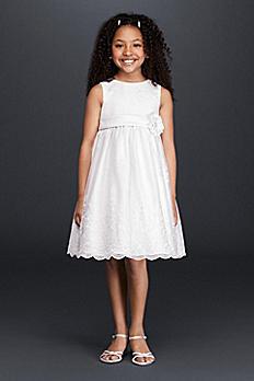 Allover Lace Flower Girl Dress 09013
