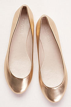 Metallic Ballet Flats ALYSE