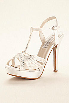 Dyeable Strappy Platform Sandal by Touch Ups Andie