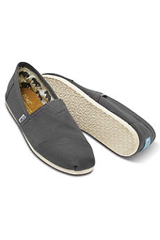 TOMS Black Casual Shoes (TOMS Mens Canvas Classic Slip-On Shoes)