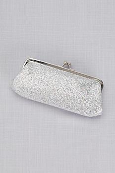 Glitter Mesh Clutch B733