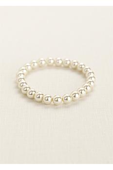 Classic Pearl Stretch Bracelet B8MM